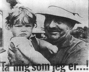 Jakob og barnebarn 1958